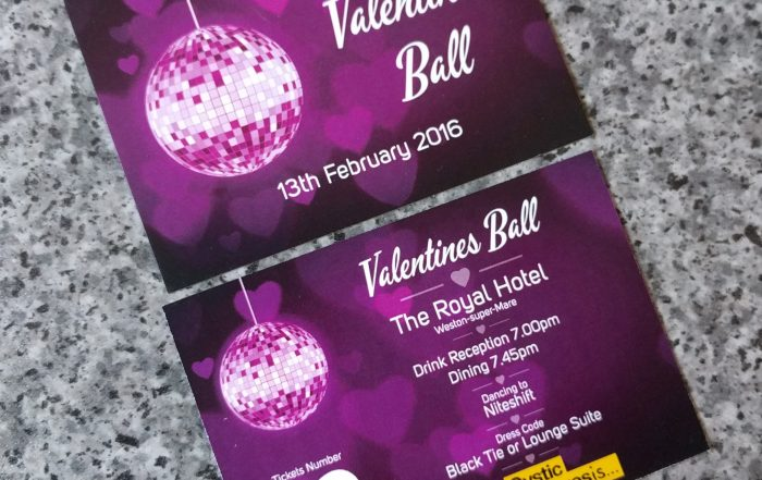 Valentines Ball Invites